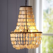 shell swag chandelier pb teen