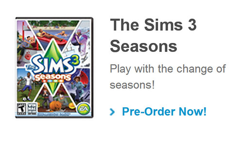 The Sims 3 Seasons Officially Confirmed by EA! (1/2)