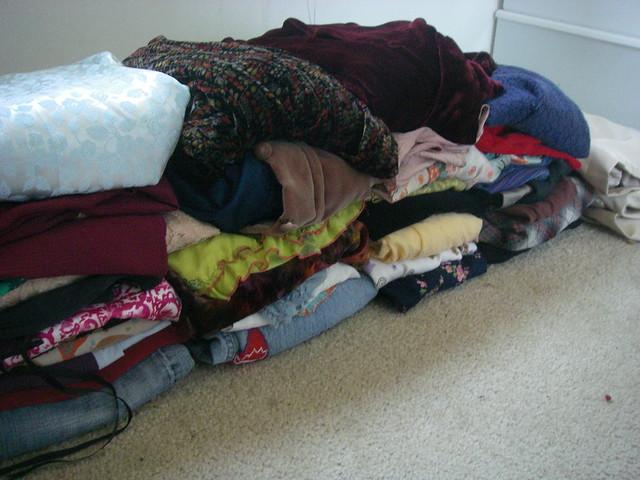 mending pile