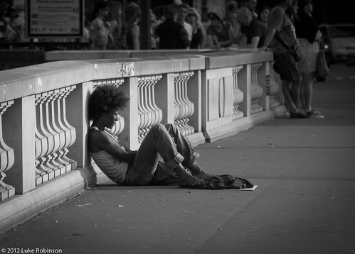 Destitute in Paris