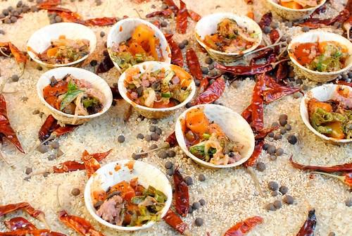Edward Lee (610 Magnolia) kimchi rice cakes