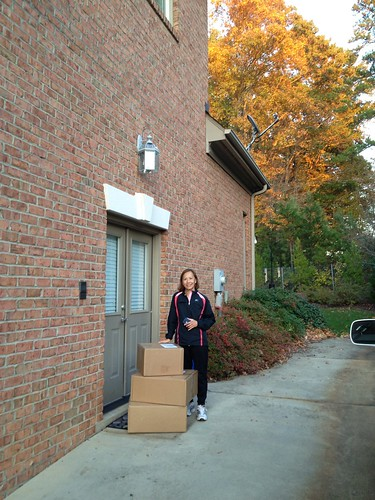 Thuy's gift baskets arrive