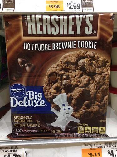 Limited Edition Pillsbury Big Deluxe Hershey's Hot Fudge Brownie Cookie