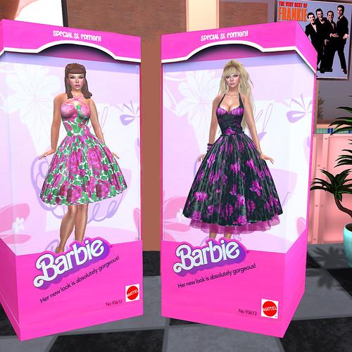 Fab 50's Barbies!