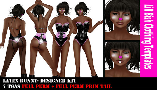 Latex Easter Bunny / Designer Kit by Evely Wolff