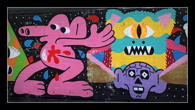 Malark Graffiti in Shoreditch, London