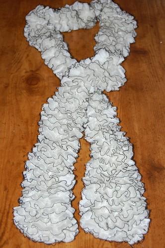 Ruffled Scarf - Pat (7/12)