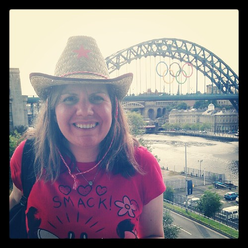 Me at the Tyne River Quayside