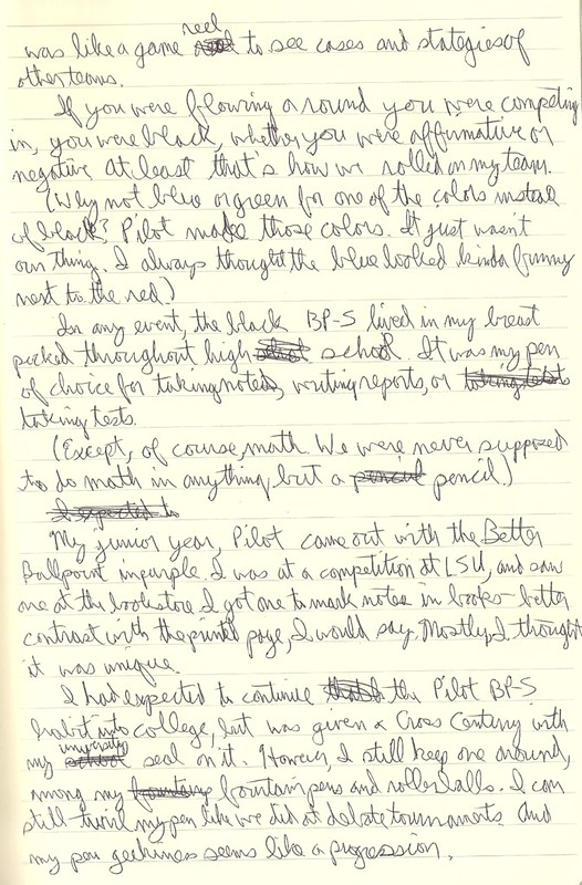 Pilot BP-S, Page Two