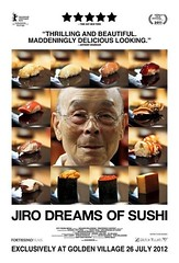 Advert for Jiro Dreams of Sushi