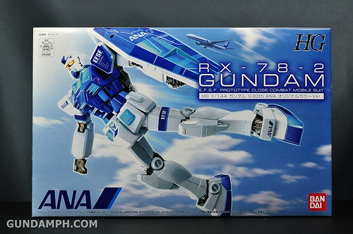 ANA RX-78-2 Gundam HG 144 G30th Limited Kit  OOTB Unboxing Review (1)