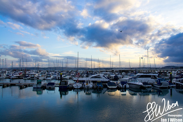 Torquay Marina Sunset