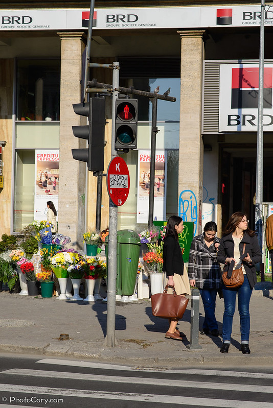 Calea Victoriei semafor