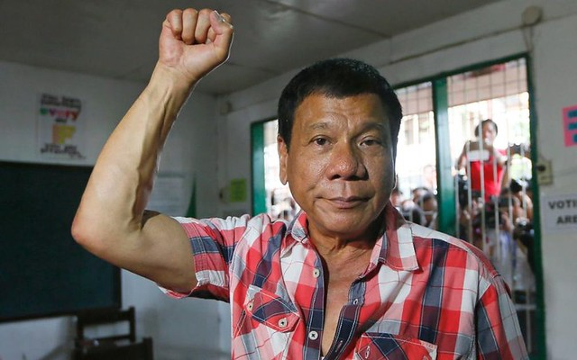 Duterte in checks