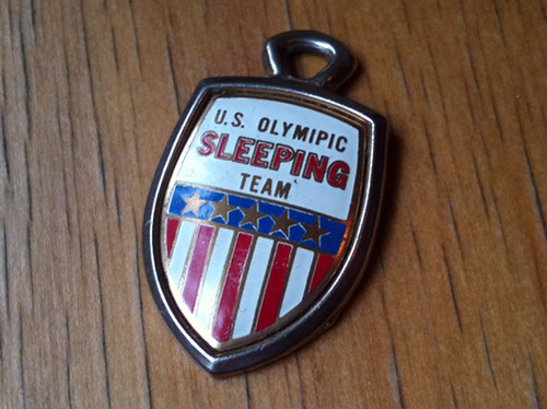 U.S. Olymipic Sleeping Team