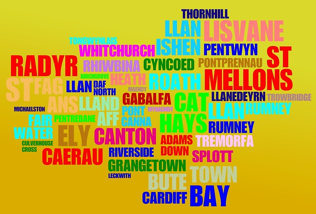 Cardiff Typomap