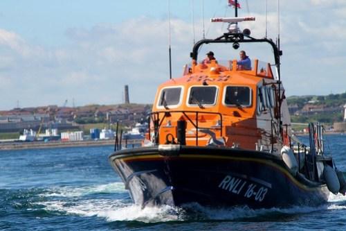 Sjørednigskorpset på vei ut