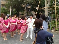 テレビ東京「どハッピーポー」収録