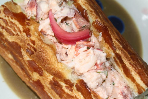 Ad Hoc Lobster Rolls w/Pickled Onions