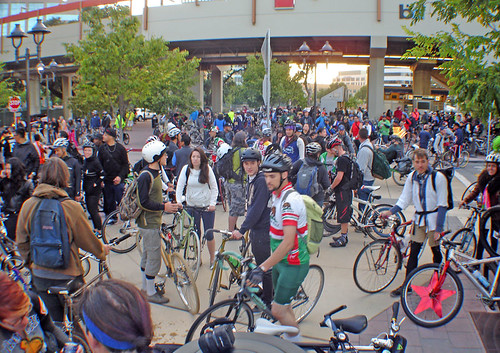 East Bay Bike Party WoS