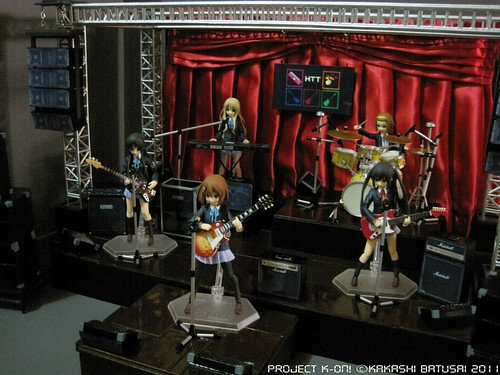 Project K-ON! Live Concert Stage Diorama by Kakashi Batusai - Figma -gundamph (17)