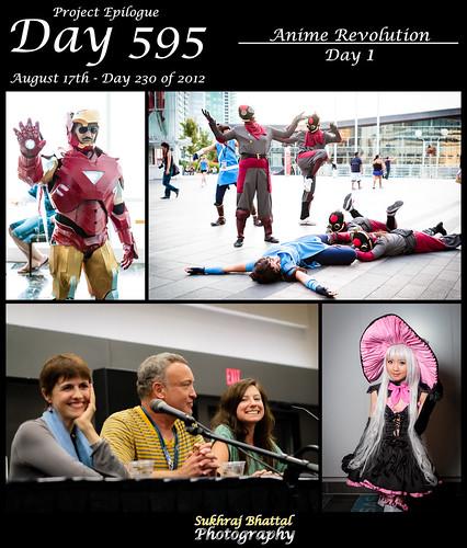 Day 595 - Day 1 of Anime Revolution by SukhrajB