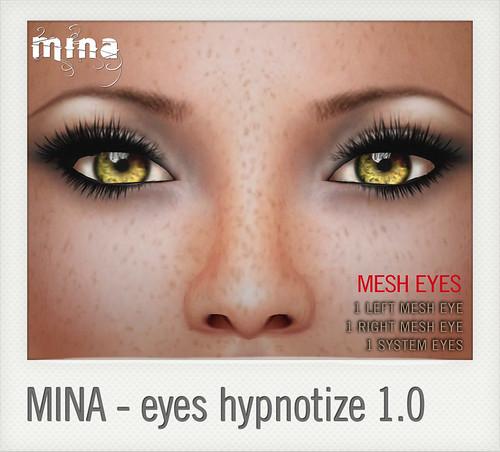 hypno eyes by Mina @ The Deck