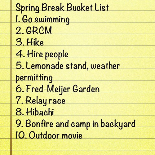 Guess which one @schaapy suggested. #springbreak #todo