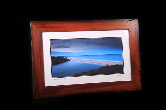 Moore River W.A framed in Jarrah