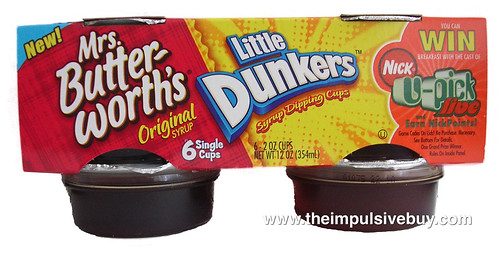 Mrs. Butterworth's Little Dunkers