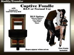 RLV Captive Fondle Chair