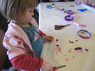 Crafts at the Whanau Fun Day