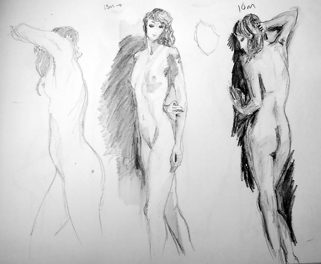 10-15 minute poses