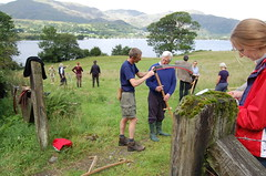 BBC tv Countryfile scything