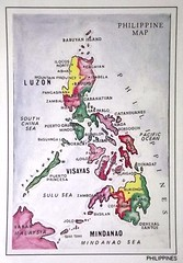 Postcards from Philippines, The: Map 1