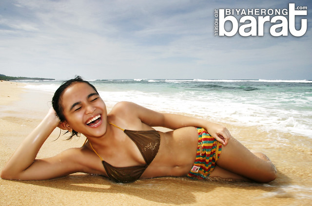 Bebeng in Patar White Beach Bolinao