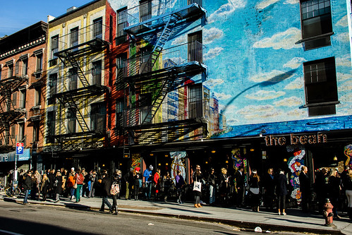 Election Day in the East Village by Dan Nguyen @ New York City