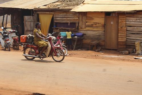 Iheaka Village Lady Motorcyclist - Enugu State Nigeria by Jujufilms