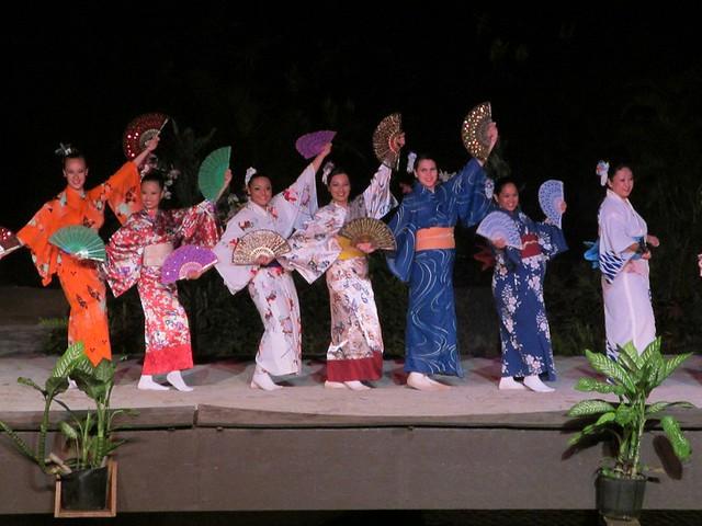 Japanese Dancing