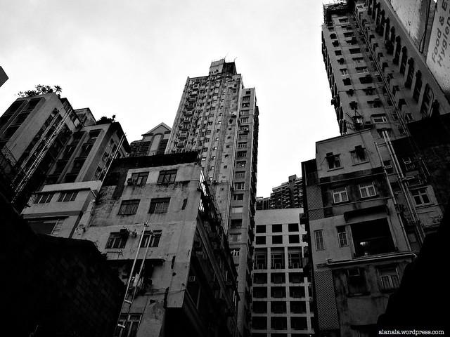 Blocks of apartment buildings