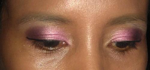 Eye makeup using Shu Uemura WKW Drowning in flames