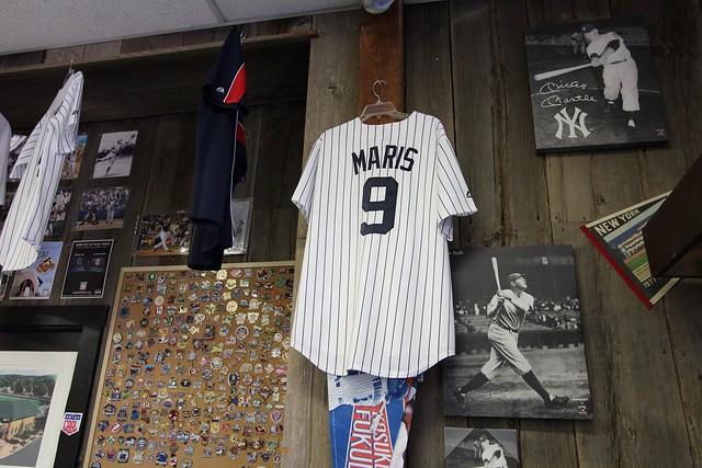 Inside the souvenir shop