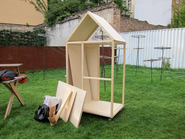 1 square meter house workshop