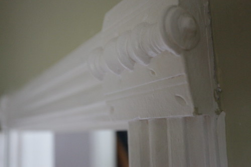 Trim details original to the home