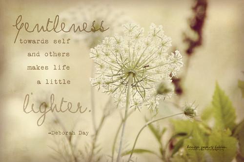 Gentleness and Lightness