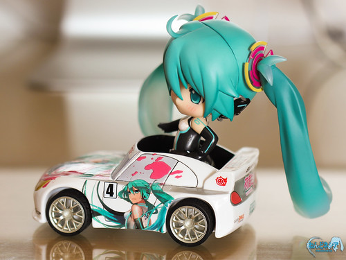 Miku: Umm ... I guess I have to adjust my seating ...