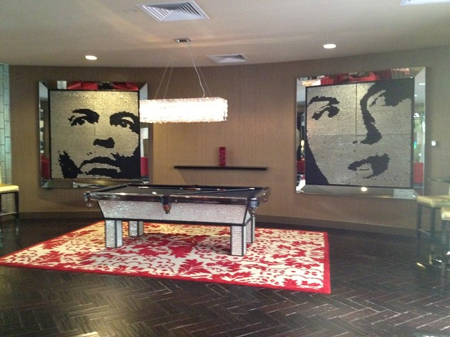 Pool table area, Riviera Resort