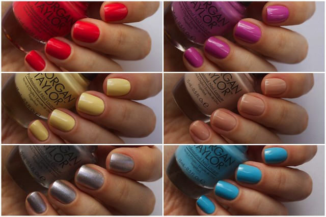 Mogan Taylor Casual Cool Spring Collection 2014 swatches