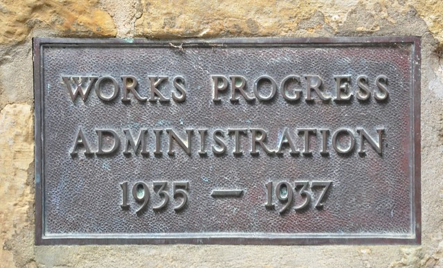 Works Progress Administration Plaque