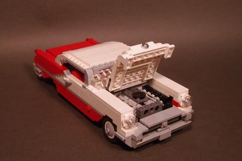 Oldsmobile 1956 Eighty-Eight Holiday Hardtop Coupe by lego911